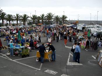 Flea Market, Santa Cruz de la Palma