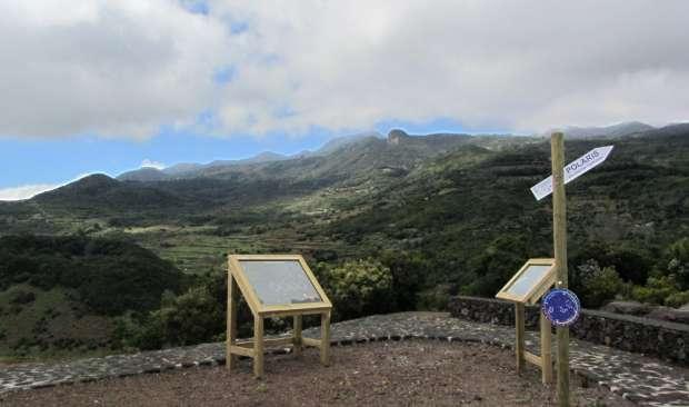View south from Las Toscas, Mazo, La Palma island