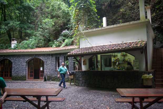 The restaurant at Los Tilos